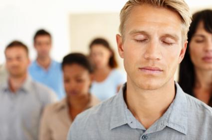 Transcendental Meditation In Progress