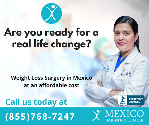 Are you ready for a real life change - Mexico Bariatric Center Banner