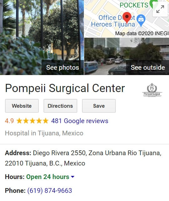 Pompeii Surgical - Reviews, Ratings on Google