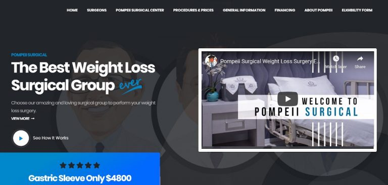 Pompeii Surgical - Weight Loss Surgery in Mexico - Costs, Reviews, and Ratings