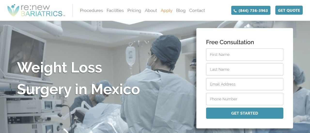 Renew Bariatrics Weight Loss Surgery in Mexico
