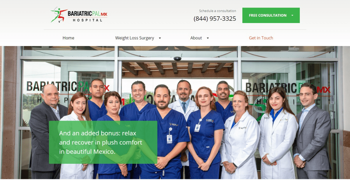 Bariatric Pal MX - Weight Loss Surgery in Mexico