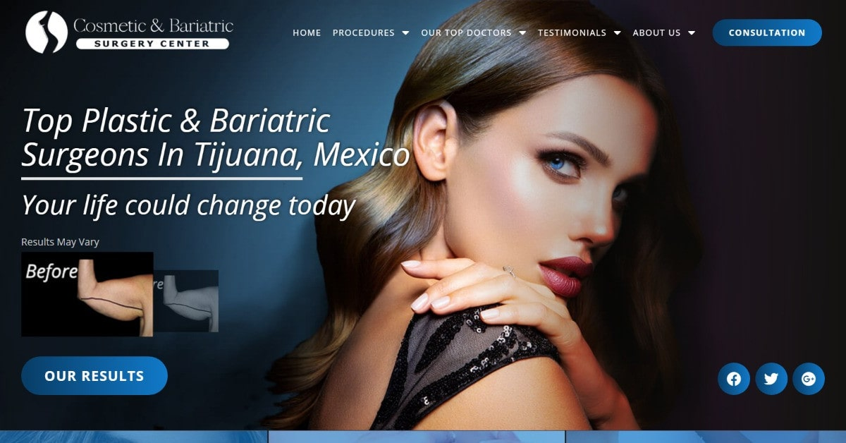 Cosmetic And Bariatric Surgery Center – Plastic Surgery and Weight Loss Surgery In Tijuana, Mexico