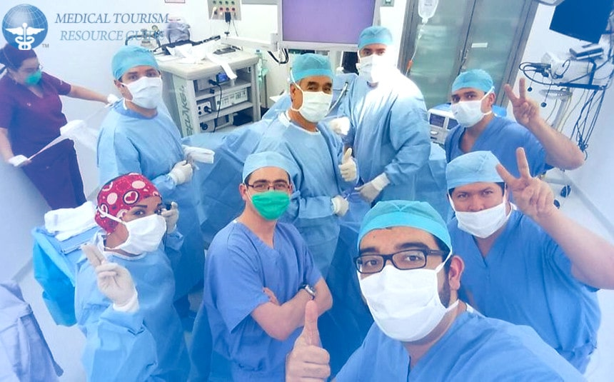 Dr. Jose Rodriguez Bariatric Surgeon in Mexico Surgical Team Operating Room