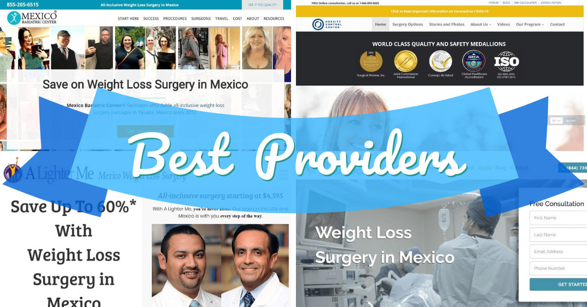 Best Weight Loss Surgery in Mexico Providers