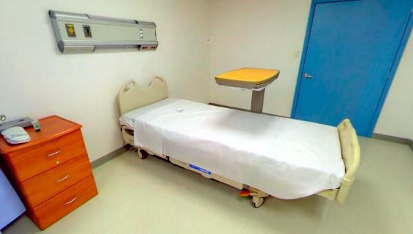 Ciba recovery room bed