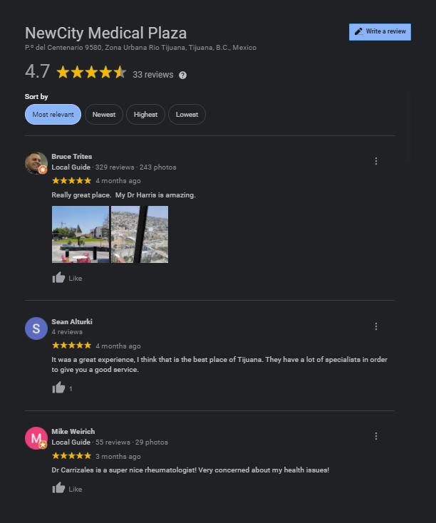NewCity Medical Plaza Reviews